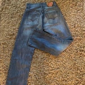 Boys Levi's size 14r 514 slim straight jeans